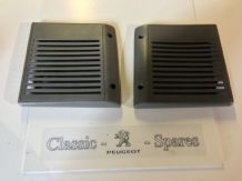 peugeot 205 1.6 1.9 gti xs xe mi16 all 205's speaker covers x 2 grey